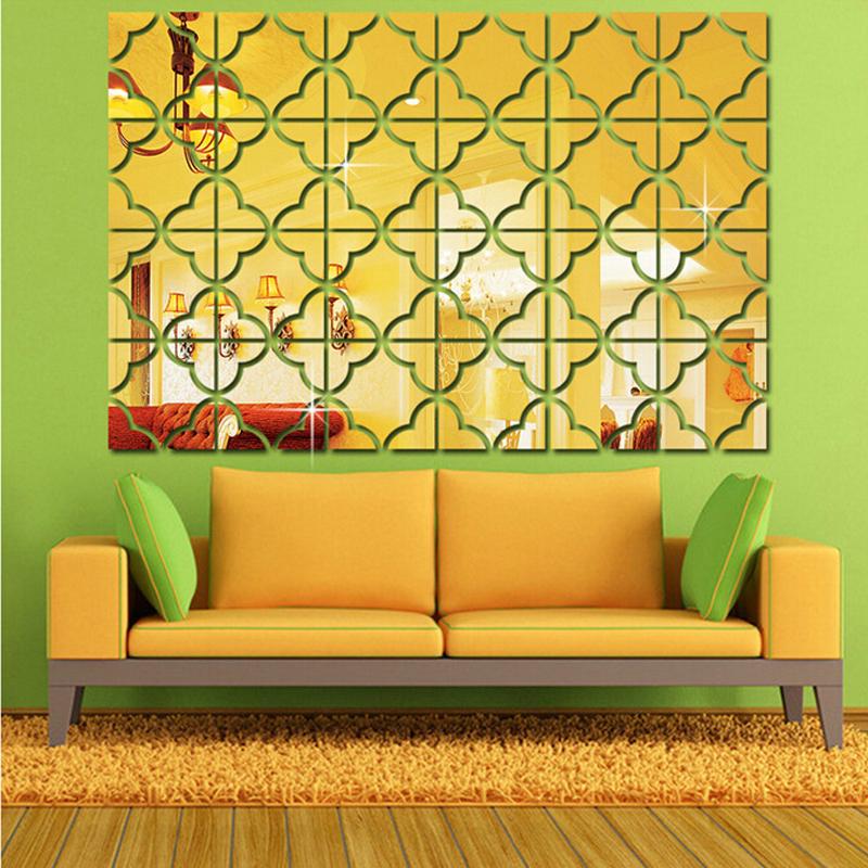 Muur spiegelkast promotie winkel voor promoties muur spiegelkast op - Driedimensionale spiegel ...