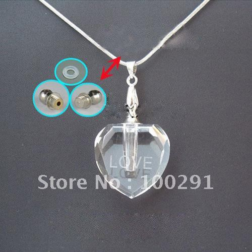 BRAND NEW CHARM CRYSTAL PENDANT NECKLACE ONE STRAND ON SALE(China (Mainland))