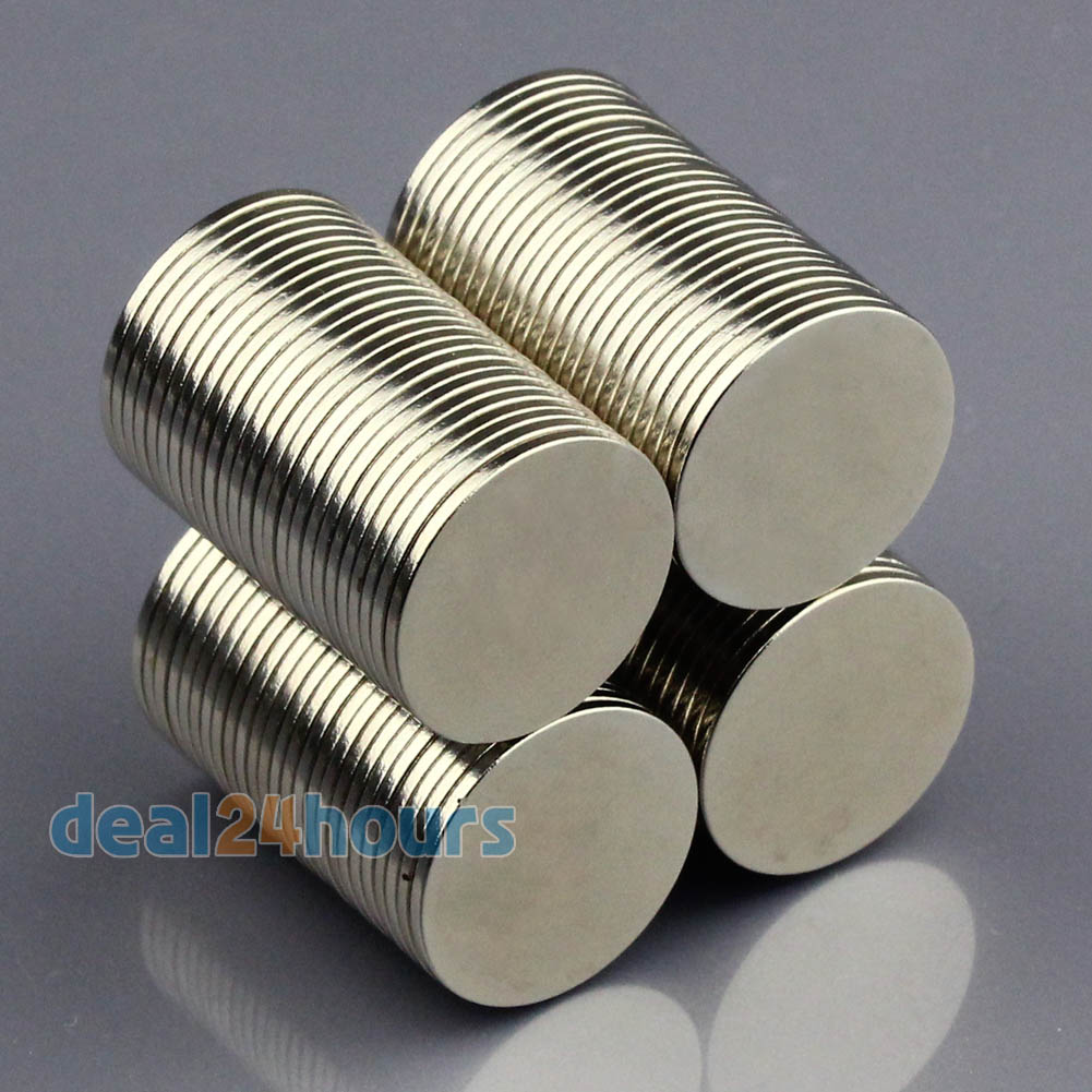 100pcs N50 Super Strong Round Disc Cylinder Magnets Rare Earth Neodymium 15mm x 1mm Wholesale Free Shipping<br><br>Aliexpress