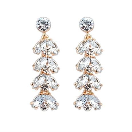 Дэвид ювелирные изделия оптовая продажа E263 мода элегантные золотые серьги женщины серьги серьги длинные серьги