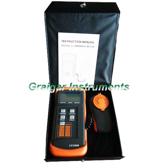 Digital Light Meter LX1330B,0-200,000 Lux Luxmeter Free and Fast Shipping