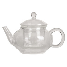 Top Quality 250ml Filter Transparent Glass Teapot Heat Resistant Flower Tea Set Coffee Teapot Convenient Kitchen