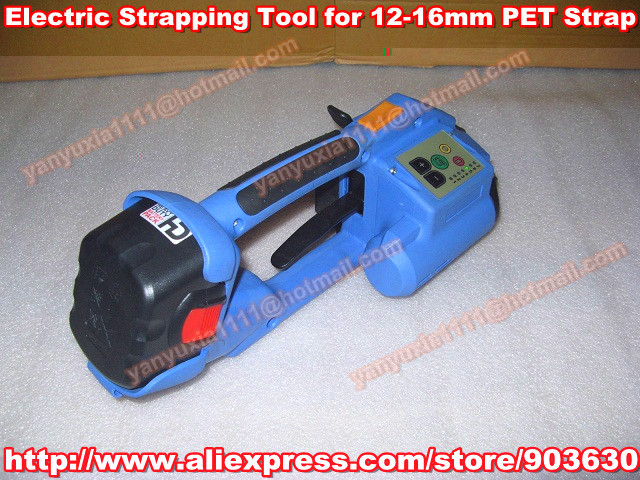 High Quality DD160 Handheld Battery Powered PET&Plastic Welded Strapping Tool ,Electric PP/PET Strapping Packing Machine 12-16MM(China (Mainland))