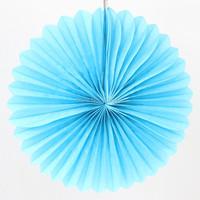 12 «Розовая бумага вентилятор для партии украшения 50pcs/lot
