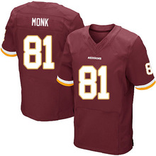 Men's #81 Art Monk Elite Burgundy Red Team Color Jersey 100% Stitched(China (Mainland))