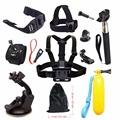Accessories kit For Gopro hero 4 5 SJCAM SJ4000 Floating Bobber Chest Head Hand Mount Strap