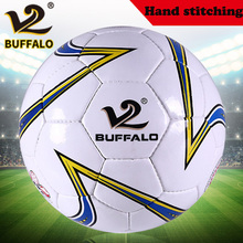 Olympic Wear-resistant PU Football Indoor Outdoor Size 5 Soccer Hand Stitching Students Training Professional Match ball(China (Mainland))