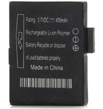 Freeshipping 1pcs original Battery for Bluetooh smart watch smart phone watch Aplus gv18 smart watch 450mAh 3.7V battery