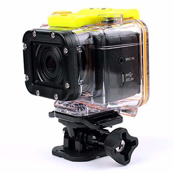 G8900A Full HD Action Camera Eyeshot Wi-Fi Watch Remote Control 1920x1080p Ultra Wide 145 Degree Lens Sport DVR 60M Waterproof(China (Mainland))