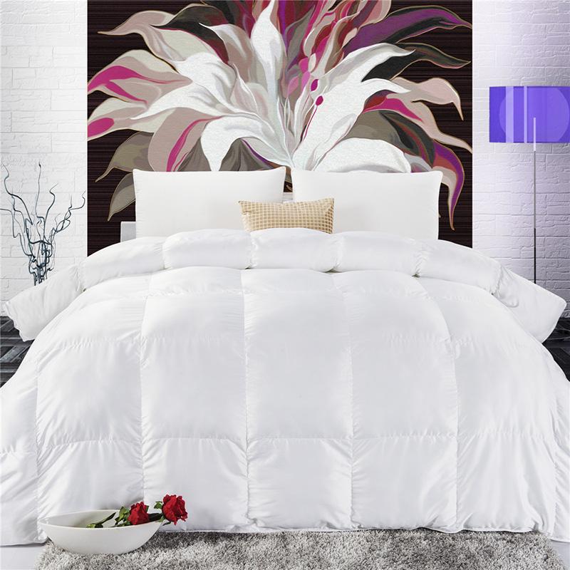 blanc quilt complet promotion achetez des blanc quilt. Black Bedroom Furniture Sets. Home Design Ideas
