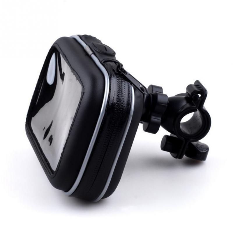 "Waterproof Motorcycle Handlebar Mount Holder Case Bag for 5\"" GPS Garmin Nuvi(China (Mainland))"