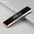 USB For Men Charging Briquet Electric Wire Men s Cigarette Plasma Lighter Personalized Lettering Gift Isqueiro