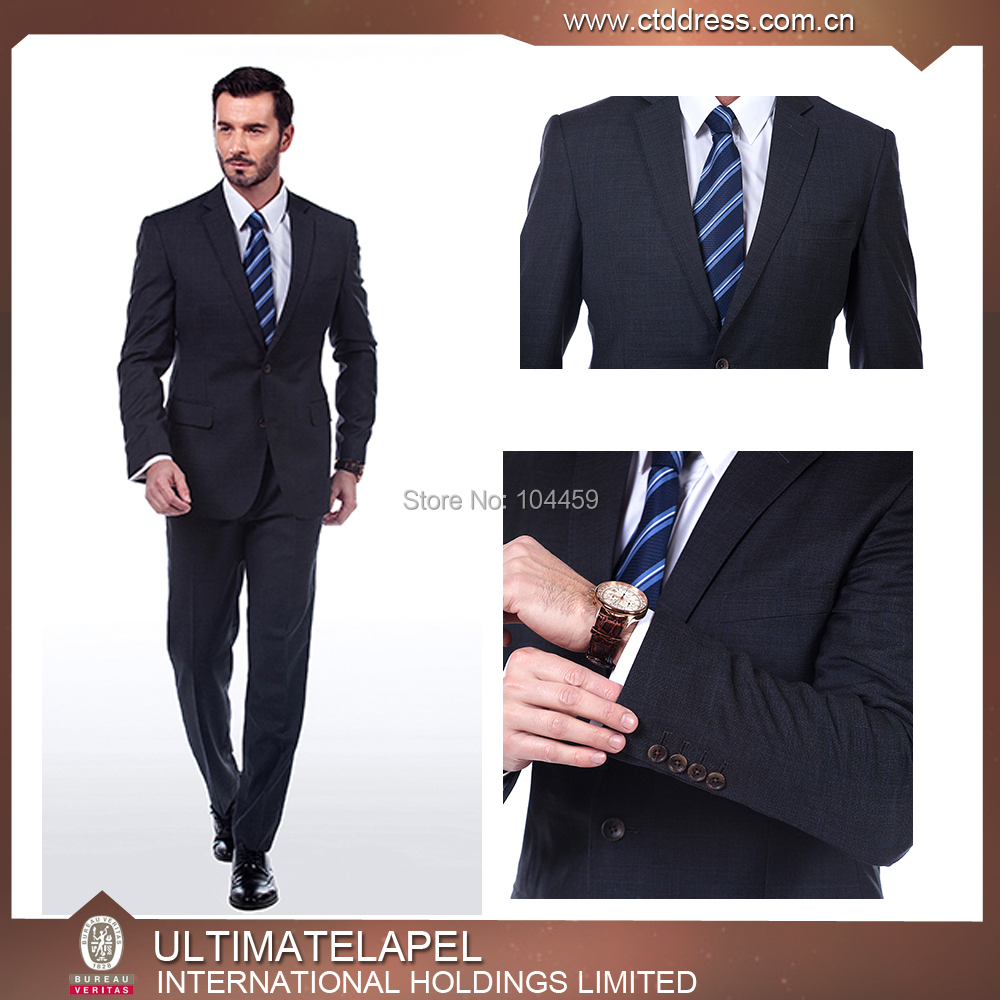2105 New styleTailored made to measure suits 100% wool 2 button notch lapel business mensuitОдежда и ак�е��уары<br><br><br>Aliexpress