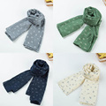 Spring and autumn winter couple warm caddice scarf thickening lovers scarf a soft comfortable fashion scarf