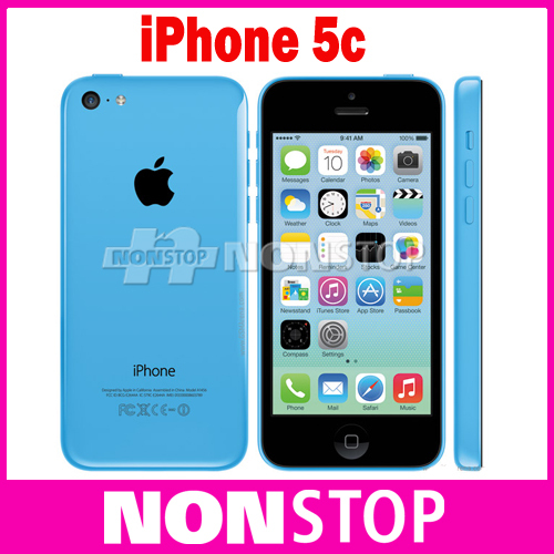 iPhone5c Original Apple iphone 5C unlocked iPhone Dual-core iOS 8 1G RAM 16G ROM 4.0 inches 8MP 5 Colors WIFI GPS 4G Cell Phone(China (Mainland))