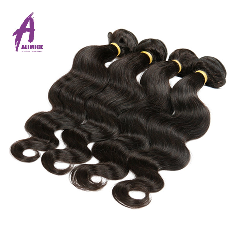 Гаджет  2015 Aliexpress Usa Pure Color Brazilian Virgin Human Hair Body Wave Weave Bundles Promotion Direct Selling Alimice Extension  None Волосы и аксессуары