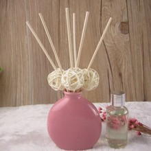 Reed Diffuser Calming, Ceramic Fragrance Diffuser, Lily Air Freshener Set For Home Decoration No fire Aromatherapy(China (Mainland))