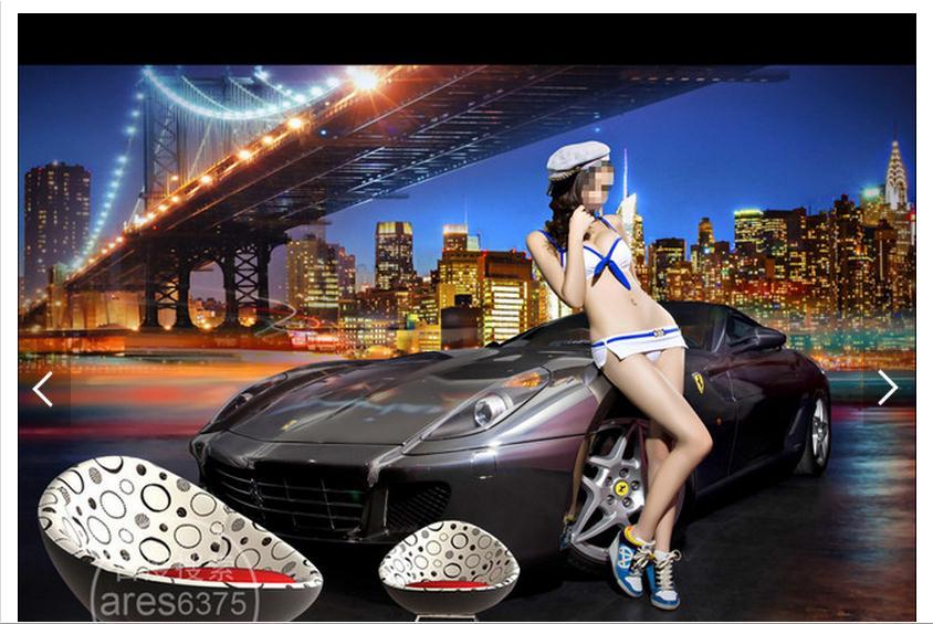 Online get cheap wallpaper sports cars for 3d customized wallpaper