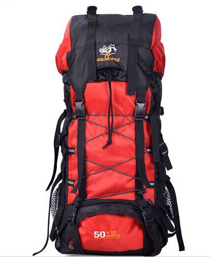 Super large capacity outdoor backpack double-shoulder 60l mountaineering bag travel backpack travel bag backpack female male