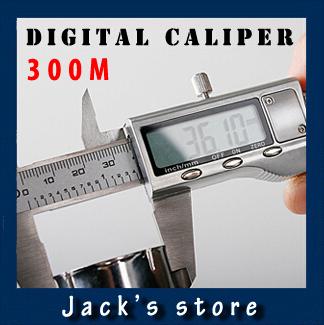 Free shipping 300mm Metal Housed Fractional Digital Vernier Caliper(China (Mainland))