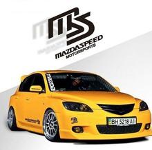 Whole Sale Reflective Car Sticker Decal MS MAZDASPEED Motorsports Body Mazda 2 3 6 cx 5 - Gaz Rom Co., Ltd. store