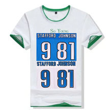 Embroidery Name Number 9 Matthew Stafford 81 Calvin Johnson Color:Green White Size:M~XXXL(China (Mainland))