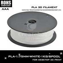 Белый цвет 3d принтер накаливания 1.75 мм ноак filamento impressora 3d принтер экструдер для createbot, makerbot, reprap, и т . д .
