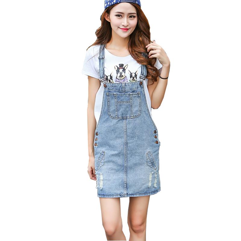 Innovative Women Denim Straps Dresses Girl39s Casual Blue Denim Dress Women