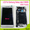 N9005 lcd with Frame white in stick For Samsung Galaxy note 3 N9005 LCD Screen LCD