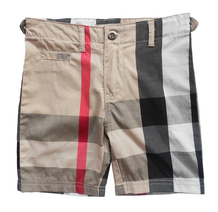 2015 boys summer clothing classic plaid kids boys shorts brand cotton boys clothes for 2-6A boy beach short pants free shipping