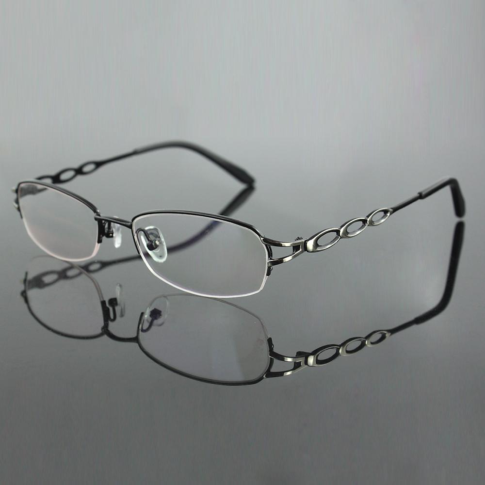 Rimless Glasses New Lenses : Aliexpress.com : Buy New eyeglasses frame Stainless steel ...