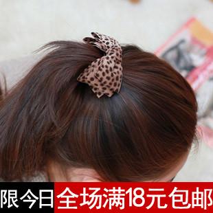 Hairpin accessories hair accessory hair accessory leopard print fabric bow banana clip twist clip horsetail clip hairpin