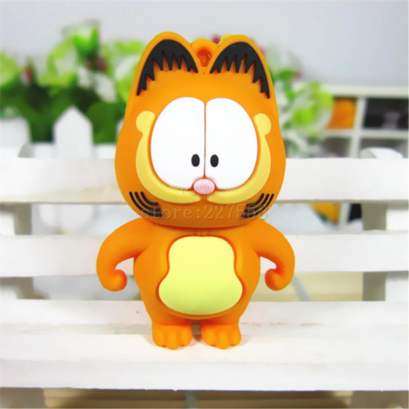 Pen Drive Garfield cat big-eye 8GB 16GB 32GB 64GB Usb Flash Drive memory stick Pendrive Pendriver mini gift(China (Mainland))