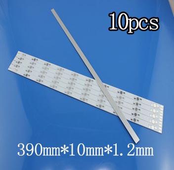 Гаджет  new Long 20pcs/Lot 390mm LED Aluminum PCB 10pcs(1w 3w 5w) high Power LED Aluminum PCB board LED Circuit board None Электронные компоненты и материалы