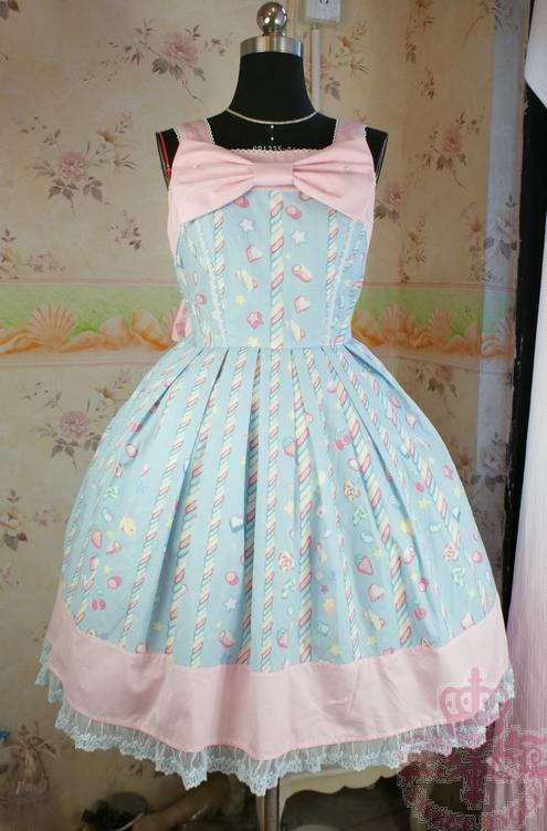 Sweet Lolita Dress Medieval Renaissance Cotton Dress Candy JSK victorian dress Cosplay Lolita Alice Costume summer style Одежда и ак�е��уары<br><br><br>Aliexpress