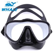 2016 New Professional Scuba Diving Tube Whale Brand Spearfishing Semi-Dry Scuba Diving Mask Swimming Glasses Swim Eyewear(China (Mainland))