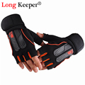 1 Fitness Gloves for Men Women High Quality Gym Gloves Fingerless Work Out Palm Wrist Protection