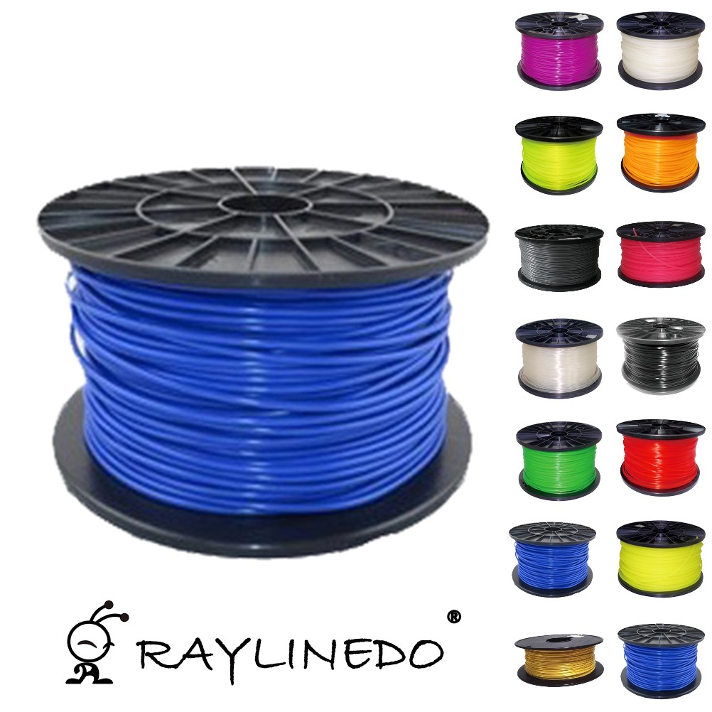 Фотография Blue Color 1Kilo/2.2Lb Quality ABS 1.75mm 3D Printer Filament 3D Printing Pen Materials