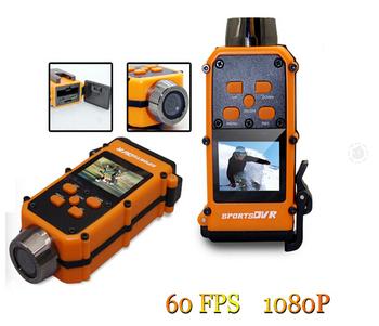 Go pro спорт шлем камера T3000 1920 * 1080 P 30FPS с 120 градусов угловой 5 мега CMOS действие камера