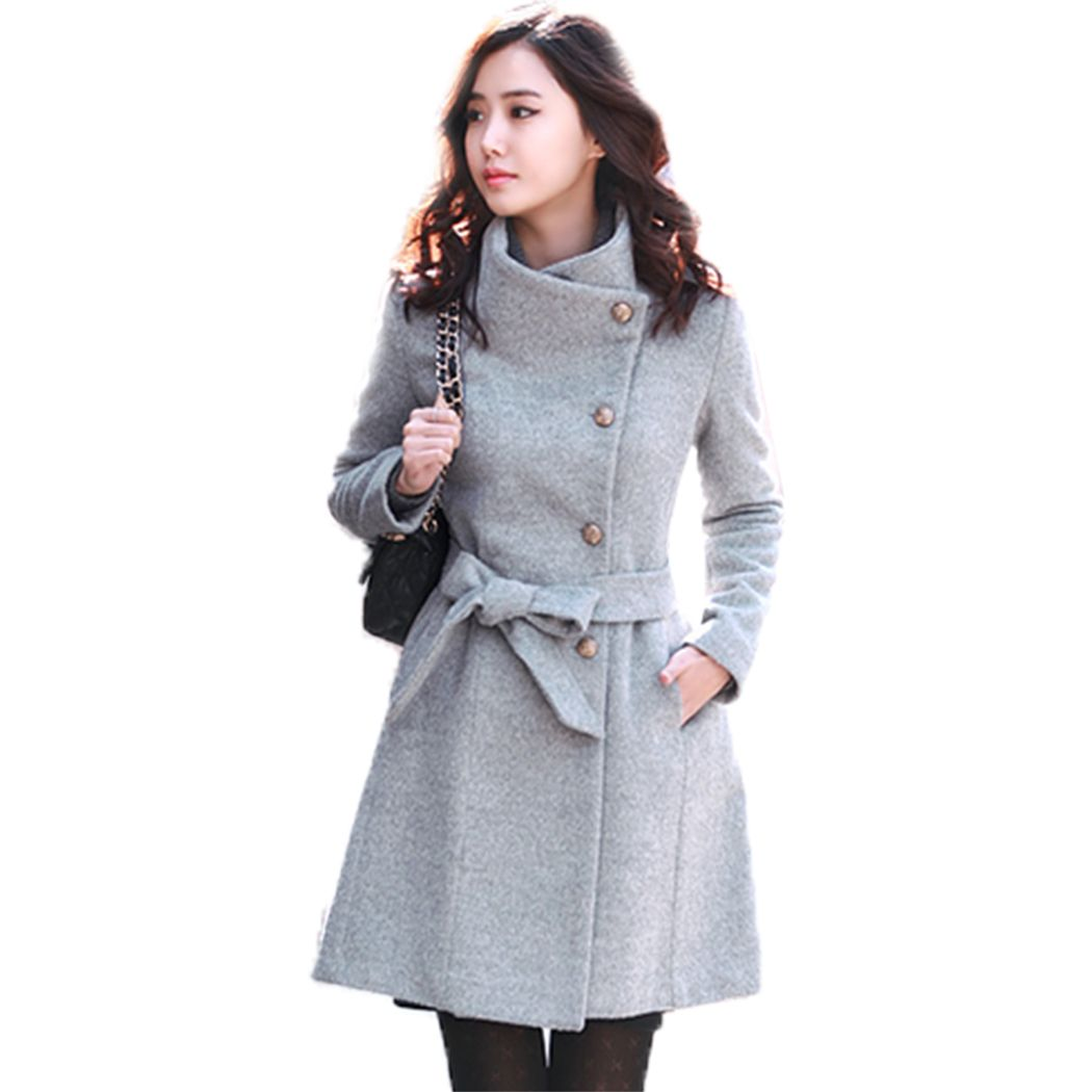 Aliexpress.com  Buy 2016 Womens Winter Coat And Jacket Coat Female Ladies Worsted Coat Long ...