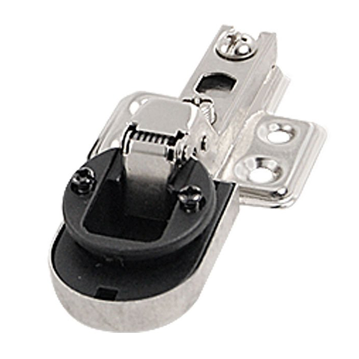 "Pair 1"" Plastic Cup Glass Door 90 degree Angle Concealed Hinge Connector(China (Mainland))"