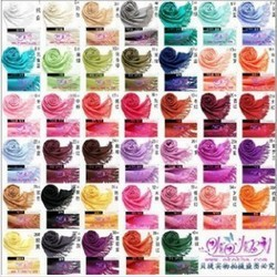 Free shipping Fashion Women's Pashmina Multicolor Scarves Warm wool Tassel Scarf Wrap Shawl scarves 40 Colors(China (Mainland))