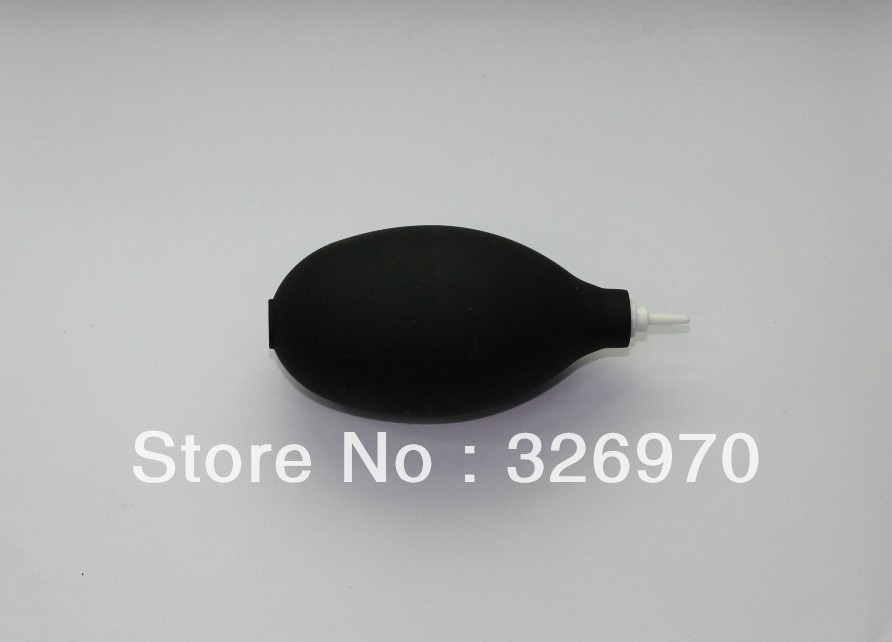 100% NEW 10 pcs Compact black Soft Rubber Dust Blower Air Blowing Ball Pump Mouth for SRL Camera lens Filter CCD LCD Screen(China (Mainland))