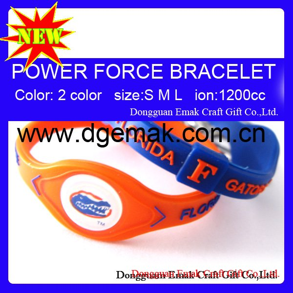 National Collegiate Athletic Association power force bands of FLORIDA-GATORS(China (Mainland))