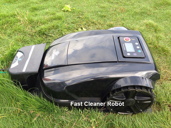 DHL Free Shipping 2015 Newest 4th Generation Solar Robot Lawn Mower With Pressure Sensor+Cutting area setting+Range Function(China (Mainland))