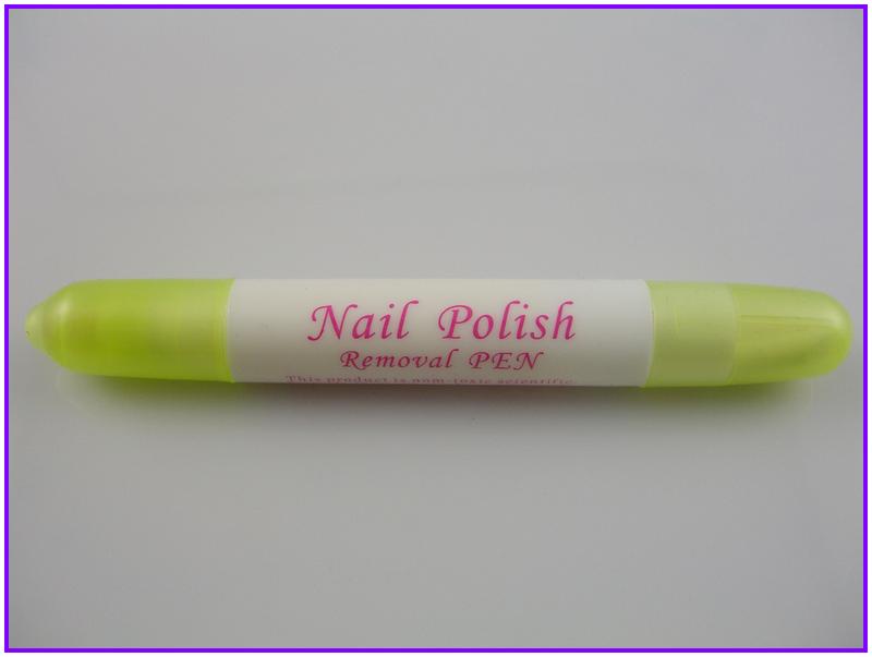 1PCS Nail Art Reusable Corrector Pen Remover + 3 Tips Newest Nail Polish Corrector Pen Cleaner Erase Manicure(China (Mainland))