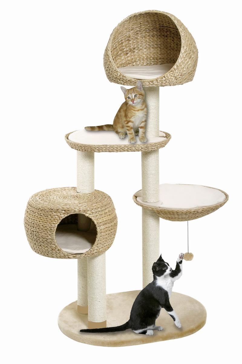 Achetez en gros naturel arbre chat en ligne des for Arbre maison jouet