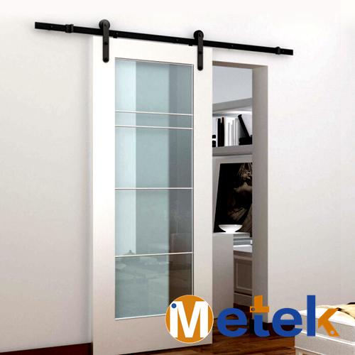METEKModern Interior Barn Sliding Door Hardware In Doors