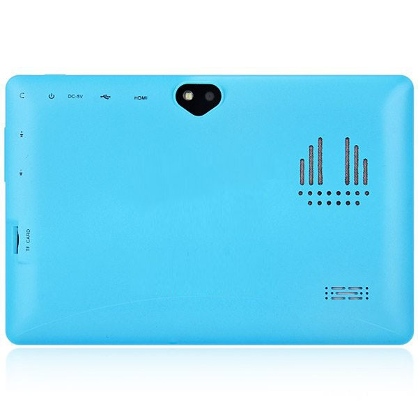 "Love Flash 7""Tablet PC Android 4.4 8GB Quad Core Wi-Fi Bluetooth Dual Camera IM Blue(China (Mainland))"
