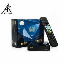 S V6 S-V6 Original S-V6 Mini HD Satellite Receiver V6 S Support CCCAMD Newcamd WEB TV USB Wifi 3G Biss Key Youporn DVB-S2 WebTV